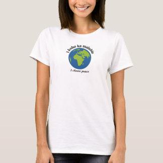 I choose peace - Hawaiian T-Shirt