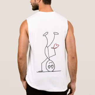 I choose to let go and be happy sleeveless shirt