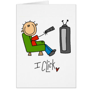 I Click TV Addict T-shirts and Gifts Card