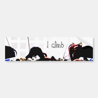 I climb bumper sticker
