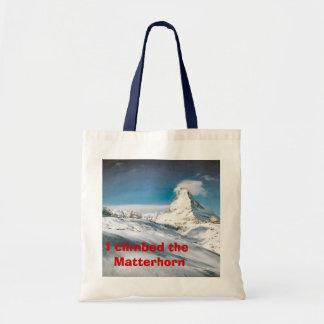 I climbed the Matterhorn Tote Bag
