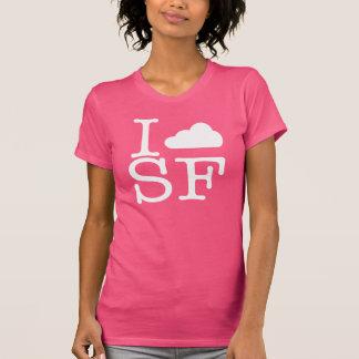 I Cloud SF (White) Tshirt