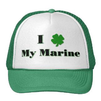 I (clover) My Marine Hat