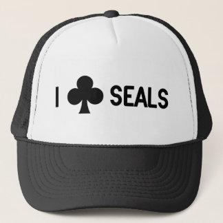 I Club Seals Trucker Hat