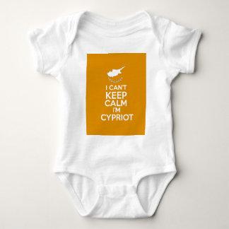 I Cnt Keep Calm Im Cypriot Baby Bodysuit