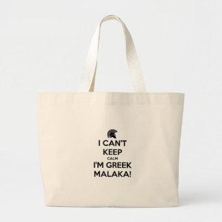 I Cnt Keep Calm Im Greek Tote Bag