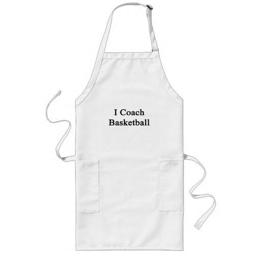 I Coach Basketball Aprons