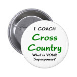 I coach cross country pins