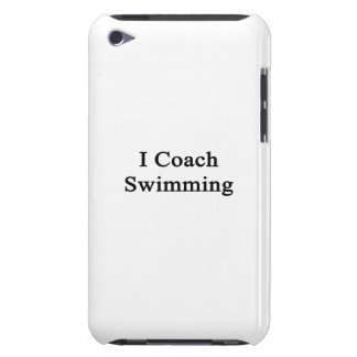 I Coach Swimming iPod Touch Case-Mate Case