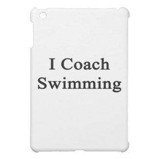 I Coach Swimming iPad Mini Covers
