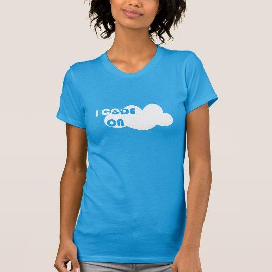 I_Code_On_Cloud T-Shirt