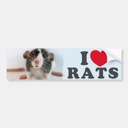I coils (blazed) Rats Bumper Sticker