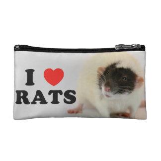 I coils (dumbo) Rats Makeup Bags
