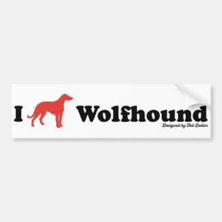 I coils Wolfhound Bumper Sticker