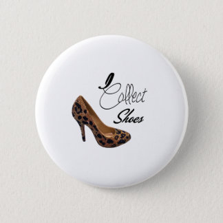 I Collect Shoes High Heels Pumps 6 Cm Round Badge