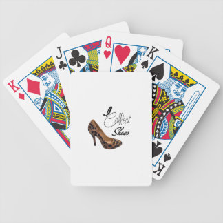 I Collect Shoes High Heels Pumps Bicycle Playing Cards
