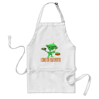 I Come For Your Sports Standard Apron