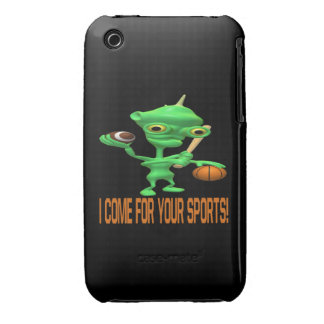 I Come For Your Sports iPhone 3 Covers