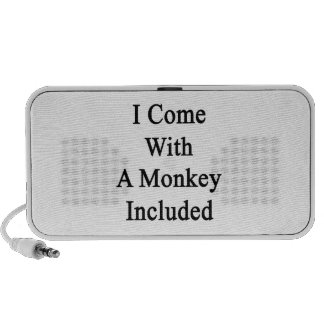 I Come With A Monkey Included Travel Speakers