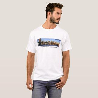 I Conquered The Brooklyn Bridge Preppy Penguin T-Shirt