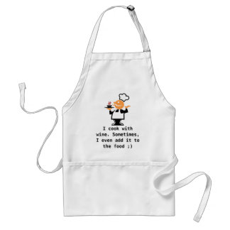 I cook with wine aprons