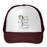 I cook with Wine, sometimes add to food Funny Gift Trucker Hats