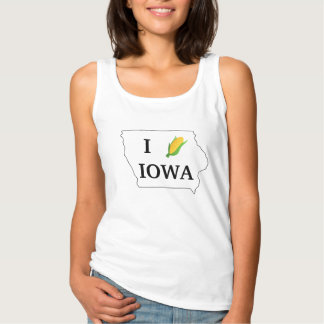 I Corn Iowa- Corny spin off of I heart NY Tank Top