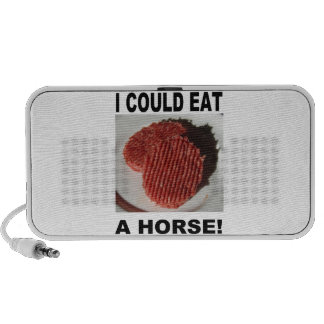 I could eat has horse - beef burgers mp3 speakers