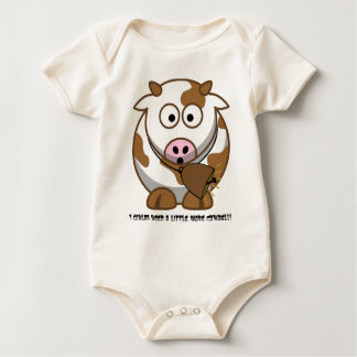 I coulda used a little more Cowbell! Baby Bodysuit