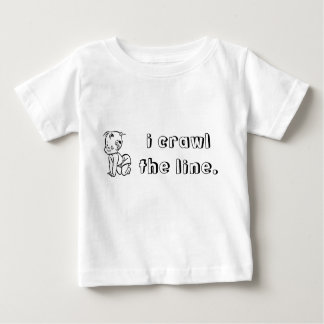 i-crawl-the-line01 t-shirts