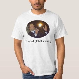 I created global warming T-Shirt