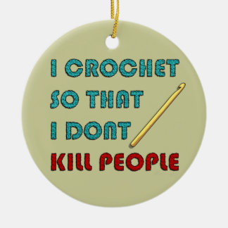 I Crochet, Christmas Ornament