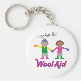 I Crochet for Wool-Aid keychain