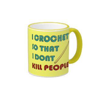 I Crochet Mugs