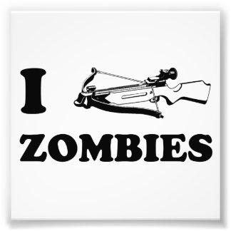 I Crossbow Zombies Art Photo