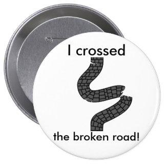 I Crossed It Pins