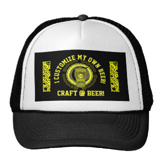 I Customize my own beer Craft Beer Mesh Hats