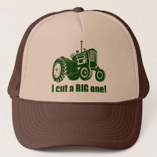I Cut A Big One Landscaper Trucker Hat