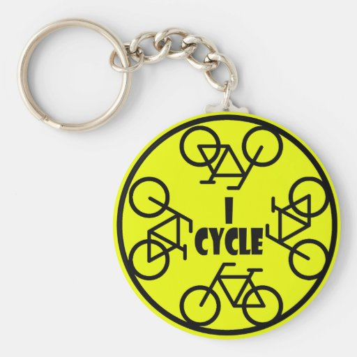 I CYCLE (BICYCLE) KEY CHAINS