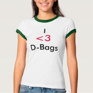 I                                D-Bags, <3 T-Shirt