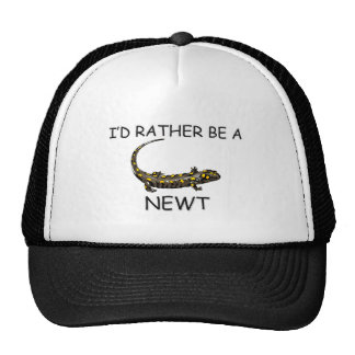 I d Rather Be A Newt Mesh Hats