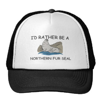 I d Rather Be A Northern Fur Seal Hats