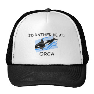 I d Rather Be An Orca Hat