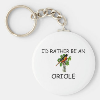 I d Rather Be An Oriole Keychains