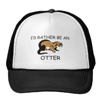 I d Rather Be An Otter Trucker Hat
