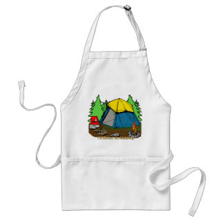 I d Rather Be Camping Apron