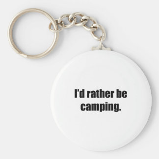 I d Rather Be Camping Key Chains