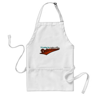 I d rather be drinking brown and bubbly aprons