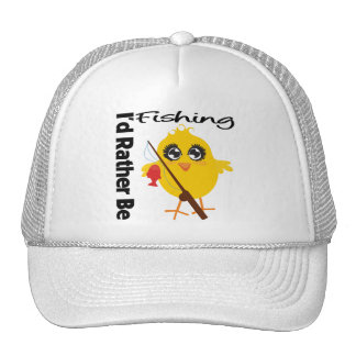 I d Rather Be Fishing Hats