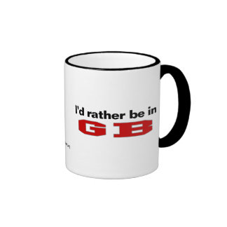 I d Rather Be In GB Mug